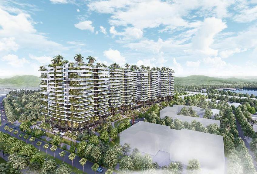 Dự án căn hộ Sunshine Green Iconic Long Biên do Sunshine Group phát triển.